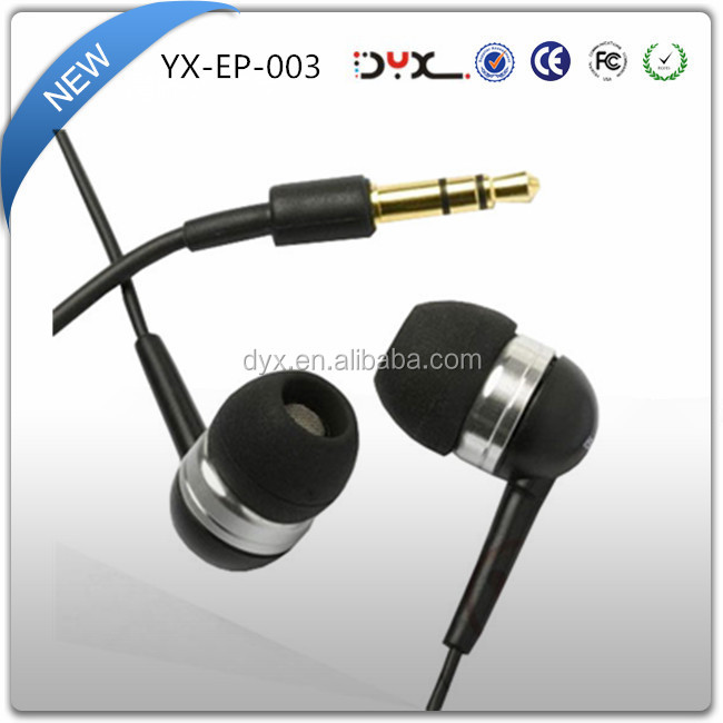 High quality china made low price hands free noise reduction colorful sport flat cable wired earphone in ear earphone