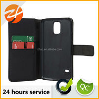 Made in China cheap mobile phone case for samsung galaxy s5 i9600,wallet leather case for Samsung s5