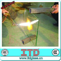 ITD-SF-FGM10830 High quality gas fire glass with CCC/CE/ISO9001