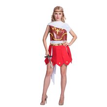 Halloween Historical adult women ancient Roman warrior girl sexy fancy dress role play costumes
