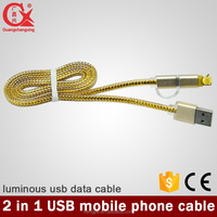 como unir 1.5m with led light 2 in 1usb reparer un cable usb