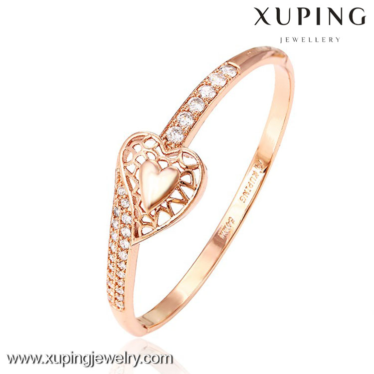 51120 fashion charming rose gold plated love screw indian sex bangle