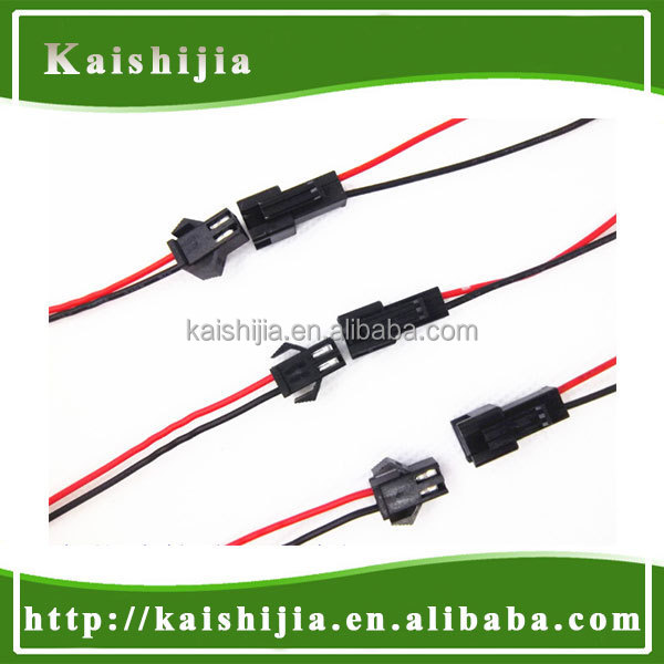 2Pin JST SM Male to Female connector wire cable for 3528 5050 single color LED strip