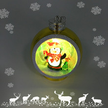 New Style Led Light up Christmas Ball Craft Hanging Ornament Decoration Ideas