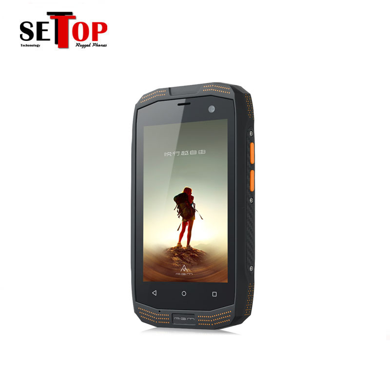 China Unlocked 4G LTE Mobile Phone Android 4.4 Rugged IP67 Waterproof Phone Smartphone 4Inch