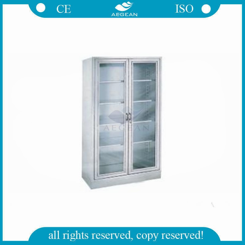AG-SS003 Visual storage cabinets hospital supplies