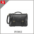 Vegetable Tanned Leather Business Laptop Briefcase for Men