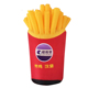 Hot selling advertising decoration giant replica inflatable food / inflatable fried chips food