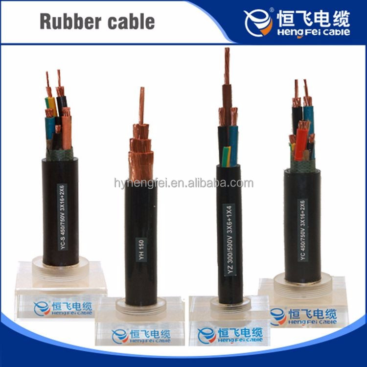 Cable Wire Electrical 3g 1.0mm h05rn-f Silicone Rubber Cable