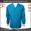 v neck surgical scrub top poly cotton fabric medical uniform