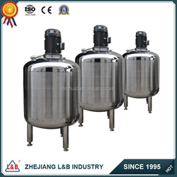 BLS single layer electric stainless detergent making machine