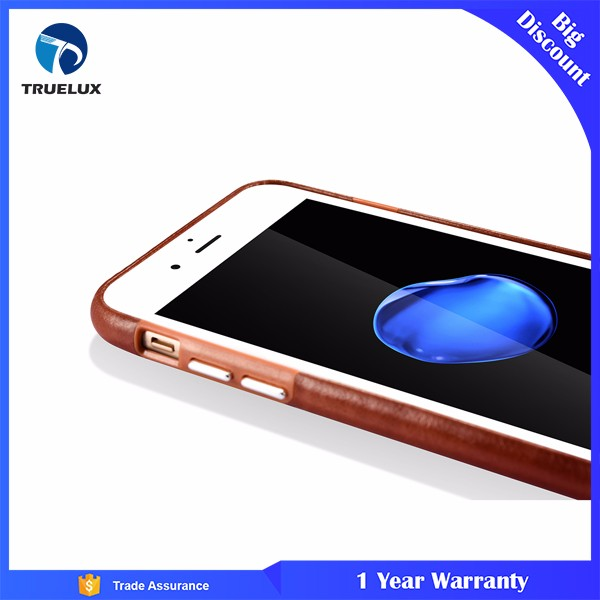 Wholesale Phone Accessories Case 2016 2017 Ultra Slim Thin Soft PU Leather Back Cover Case For iPhone 7