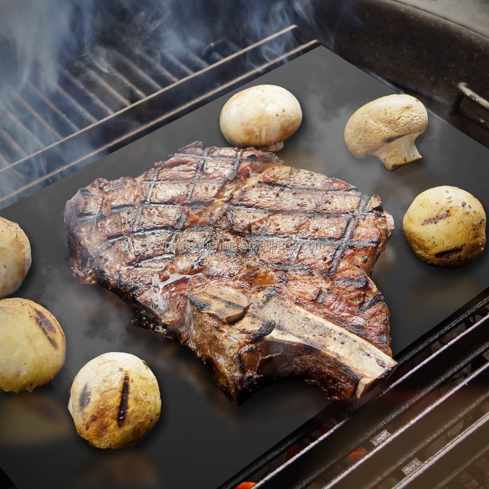 how to clean bbq grill mat