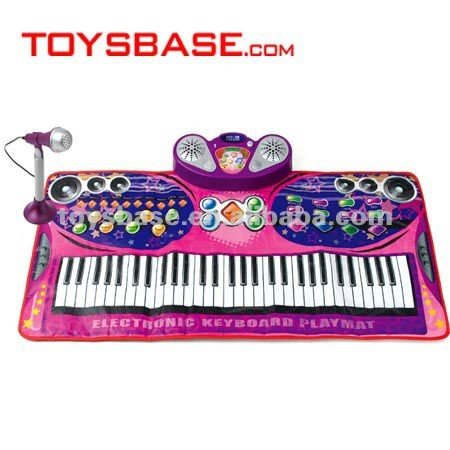 61 Key microphone keyboard eva play mat