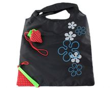 Polyester Folding Shopper Tote Bag With Separated Pouch