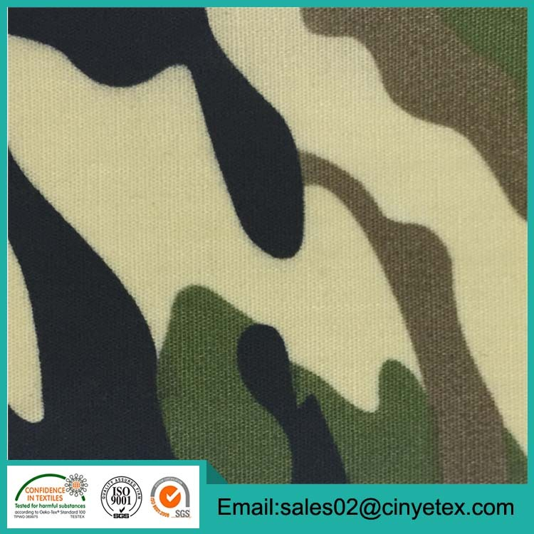 different type of cheap calico fabric camouflage quilting fabric