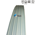 color coated curved roof panel/corrugated color coated curved roof panel