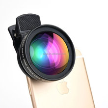 Universal camera lens cover for mobile phone 0.45x37mm Wide angle Macro Lens