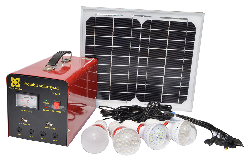 2015 portable home solar systems for indoor lighting and business owner