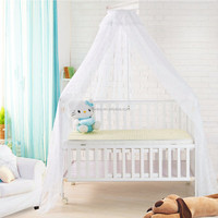 Baby round hanging mosquito net bed canopy baby room decoration