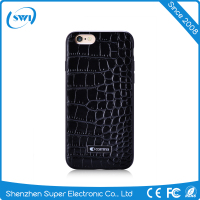 Full 360 Degree Protective Waterproof Dustproof Croco Cowhide Leather TPU Case Cover For Iphone 6 6S 6 Plus 6S Plus