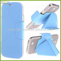 transformers folding Leather case for samsung galaxy s4 i9500