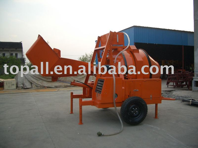 Containerized Export Congo Market Diesel Concrete Mixer