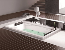 2 person drop in spa bath bathtub top selling air jet bathtub mixing hot sex tub