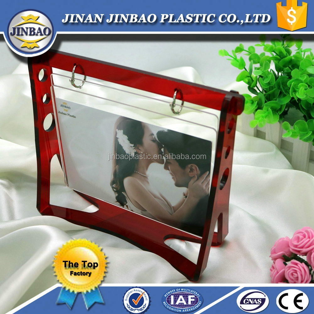 2016 popular new hand carved photo frame/frame toy photo frames love