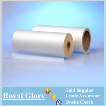 Alibaba China matte glossy BOPP thermal laminating roll film