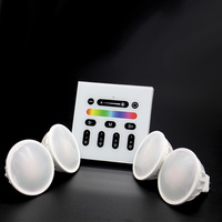 High quality wholesale4W dimmable cob mr16 gu5.3 gu10 led spotlight 6W RGBW 9W led lamp