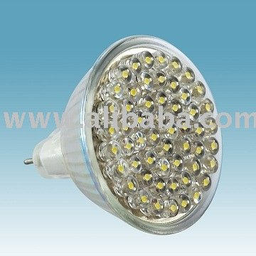 LED bulb 20, 1W white/warm white MR16-GU5.3 12V