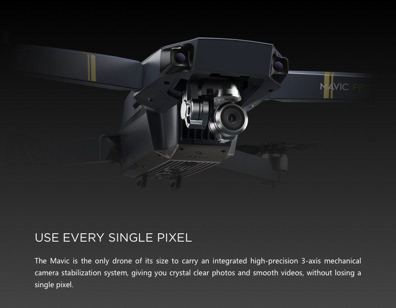 Newest DJI Mavic Pro Small Professional Pocket Drone with 4k camera obstacle avoidance