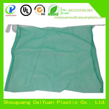 HDPE monifilament green date tree bags with black rope