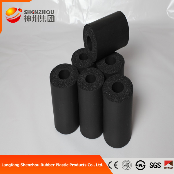 black foam rubber sound Insulation plastic pvc rubber foam tube