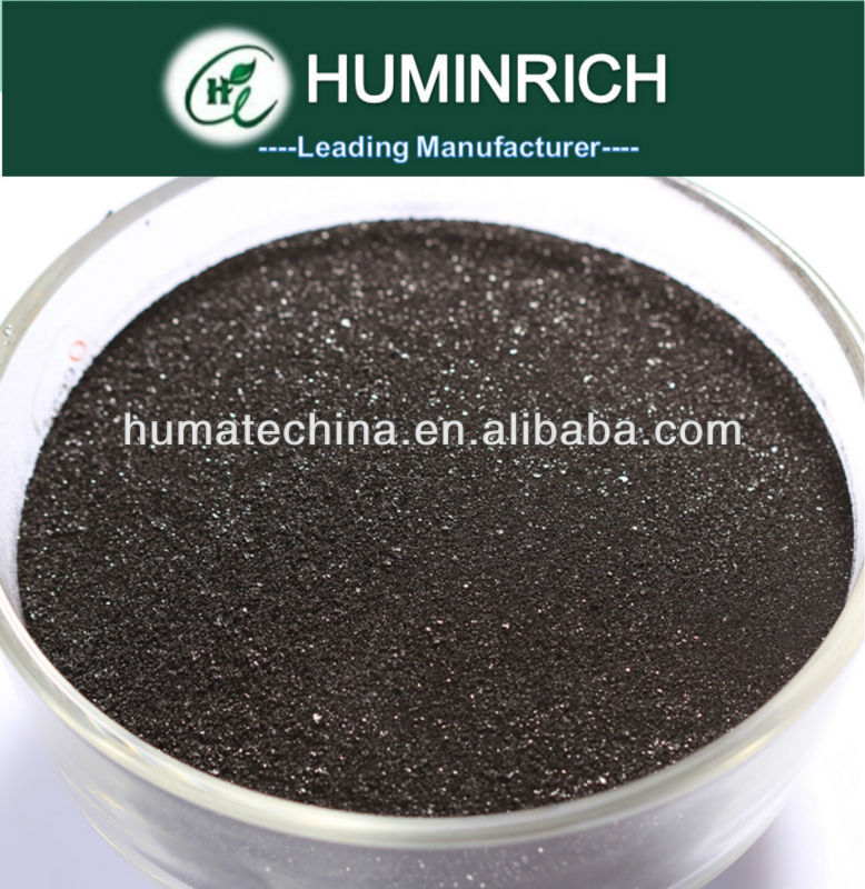 Huminrich Shenyang 65HA+25FA+12K2O Star Humic Acid Powder 70% purity