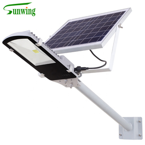 High Quality led solar street light 100W Solar Lamp With Panel And Lamp Pole LED Street Light
