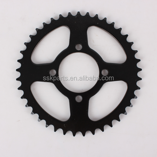 HAISSKY Motorcycle Parts Spare Chinese Moto Parts Sprocket Wheel for Sale