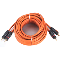 2019 Wholesale Price High Quality Rca cable with Golden Plated