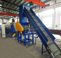 China high efficiency plastic PP PE film recycling and washing line with low price