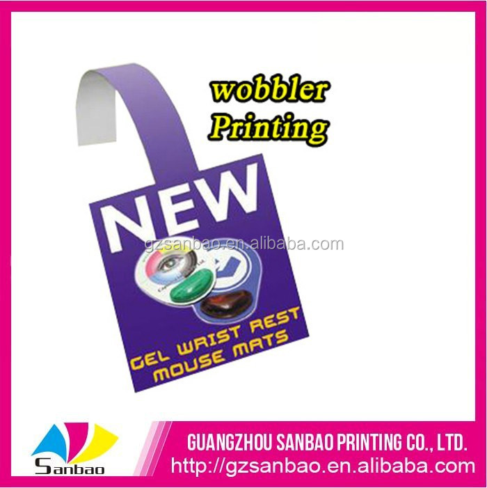 Hot Selling Supermarket Discount Price Tags, Pvc Plastic Price Cards, Plastic Wobbler For Promotion