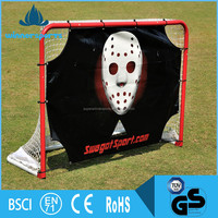 Official Training Hockey Goal with Shooting Target