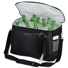 Non-woven material ice bag thermal wine cooler carrier bag wholesale