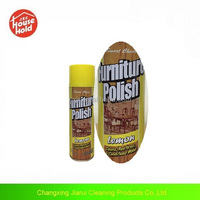 Household care product: furniture polish (lemon , rose scent)