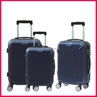 Latest Classic Style Abs Pc Trolley hiking Luggage for travel