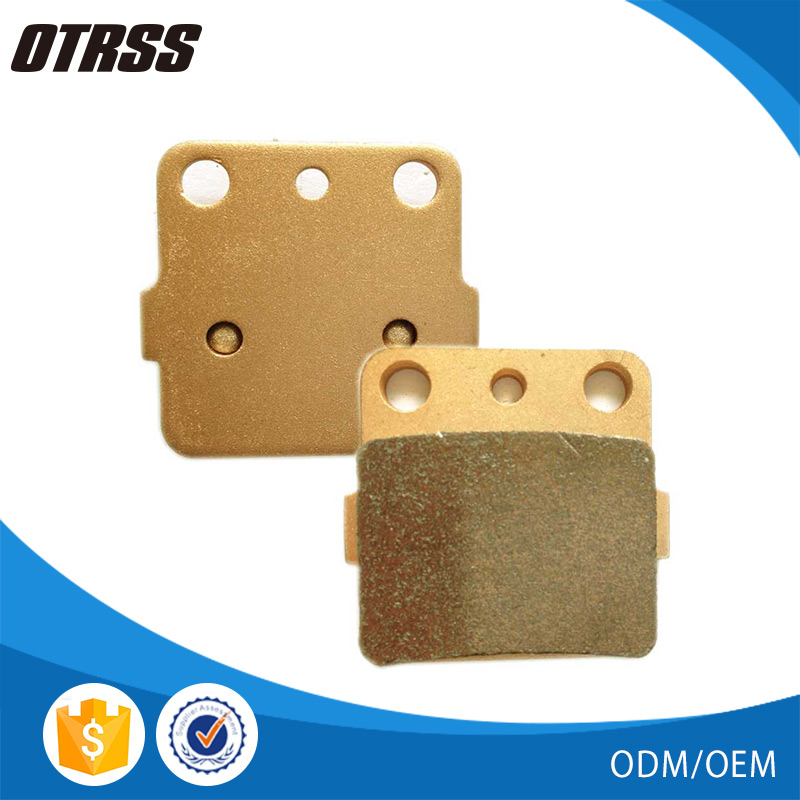 100% Good quality YZ 80 E/F/G/H/J/K/L/M/N ATV sintered brake disc pads for SUZUKI
