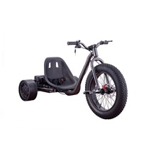 Europe warehouse free shipping Cheap Adult big wheel 48v 1500w brushless motorized electric drift trike CE approved