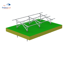 Commercial Application PV Ground Mounting Structures Solar PV Racking Systems