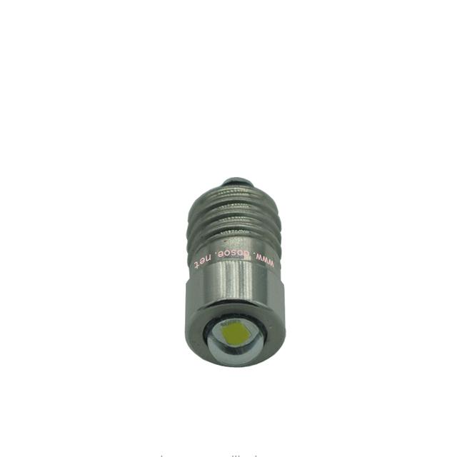 3.0 W,E10 , led christmas light bulb/flashlight bulbs for any C and D, 1-2 cells