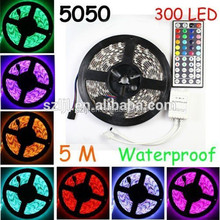 alibaba china supplier 60leds 5m/roll smd 5050 rgb 300 waterproof led strip